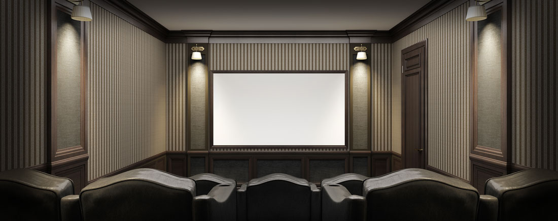Affordable Home Theater Custom