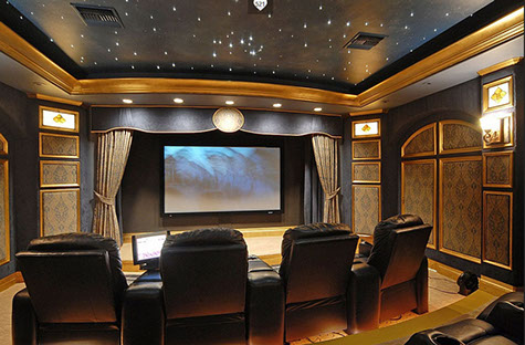 Dallas Home Theater installation systems