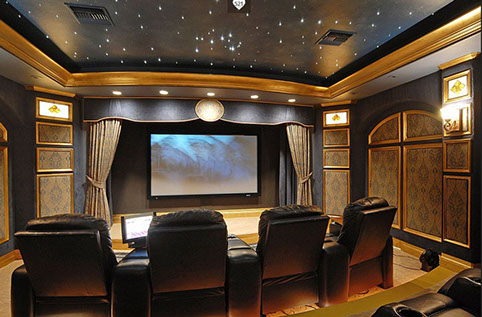 Home Theater Home Theater System Av Audio Visual Installation
