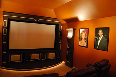 Custom Home theater systems installed Dallas Frisco Plano Allen McKinney TX Texas