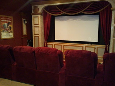 Home theater systems installed Dallas Frisco Plano Allen McKinney TX Texas
